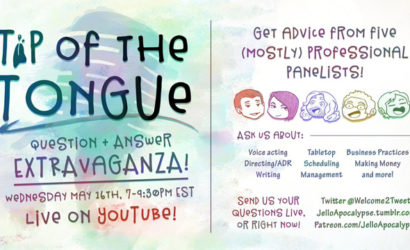 Tip of the Tongue Ep 14 – LIVE QUESTION + ANSWER OMNIBUS!
